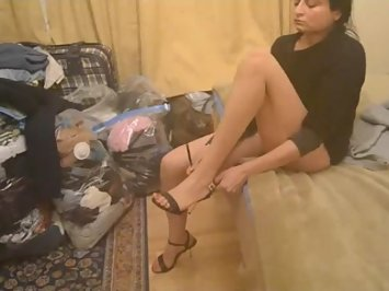 Bushra Pakistani MILF Foot Fetish Sex